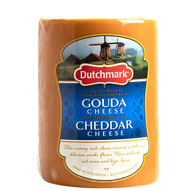 Dutchmark Smoked Gouda Cheese (Priced Per Pound)