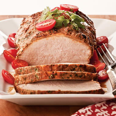 Artisan Fresh Roasted Tomato-Cilantro Marinated Pork Loin