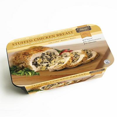 Hometown Cuisine Gourmet Artichoke-Spinach Stuffed Chicken Breast