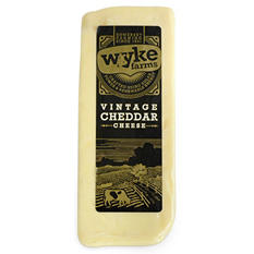 Wyke Farms Vintage Cheddar Cheese (Priced Per Pound)