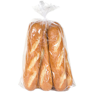 "Artisan Fresh 12"" White Hoagie Rolls - 6 ct."