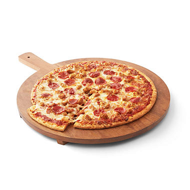 "Artisan Fresh 16"" 3-Meat Take and Bake Pizza"