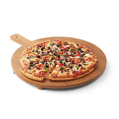 "Artisan Fresh 16"" Deluxe Take and Bake Pizza"