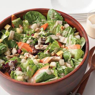 Artisan Fresh Grilled Chicken, Pear and Walnut Salad