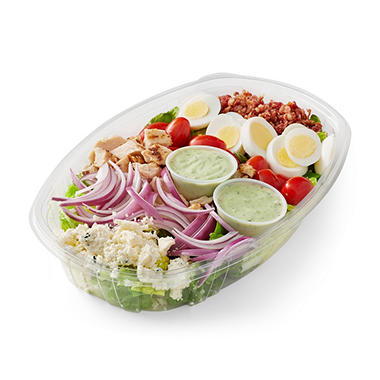 COBB SALAD W/ CHICKN AND AVOCADO RANCH