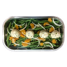 Daily Chef Green Beans with Mandarin Oranges & Herb Butter