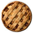 Artisan Fresh Apple Lattice Pie
