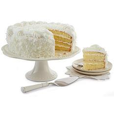 Daily Chef Fresh Coconut Cream Filled Round Cake