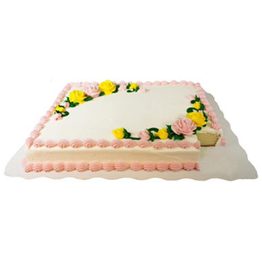 Half Sheet Cake Price