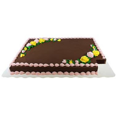 What Size Is Sam S Full Sheet Cake
