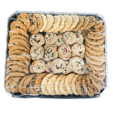 Artisan Fresh Cookie Tray - 5 lbs. 15 oz. - 84 ct.
