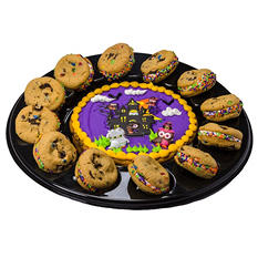 Mini Cookie Cake Halloween Platter