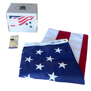 Annin - American Flag 6x10' Tough-Tex with Sewn Stripes and Embroidered Stars