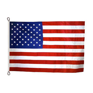 Annin - American Flag 30x60' Tough-Tex with Sewn Stripes and Appliqued Stars