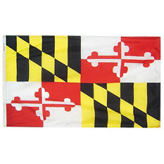 Annin - Maryland state flag 3x5 ft. Nylon SolarGuard