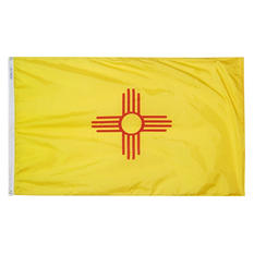 Annin - New Mexico state flag 4x6 ft. Nylon SolarGuard