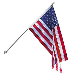 Annin - Spinning Flagpole with 3' X 5' Nyl-Glo U.S. Flag