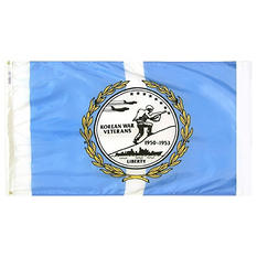 Annin - Korean War Vets Flag 3x5 ft. Nylon