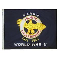 Annin - WWII Commemorative Flag 3x4 ft. Nylon