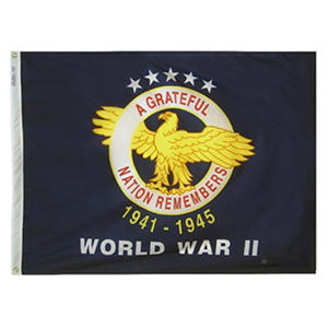 Annin - WWII Commemorative Flag 3x4 ft. Nylon