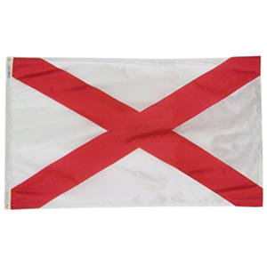 Annin - Alabama State Flag 4x6' Nylon SolarGuard