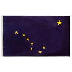Annin - Alaska State Flag 4x6' Nylon SolarGuard