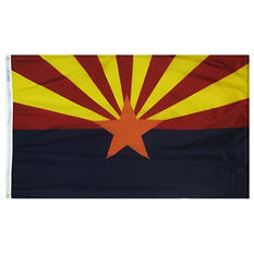 Annin - Arizona State Flag 4x6' Nylon SolarGuard