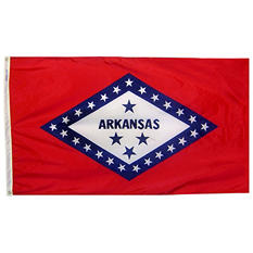Annin - Arkansas State Flag 3x5' Nylon SolarGuard