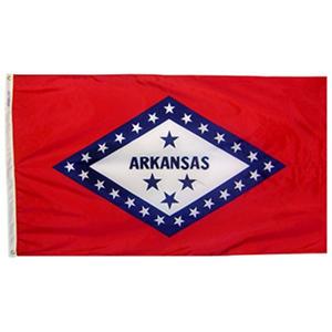 Annin - Arkansas State Flag 4x6' Nylon SolarGuard