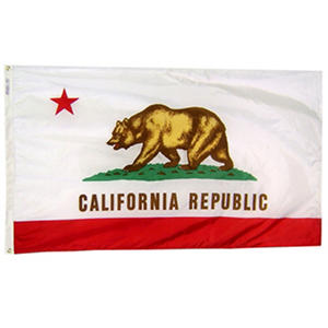 Annin - California State Flag 4x6' Nylon SolarGuard