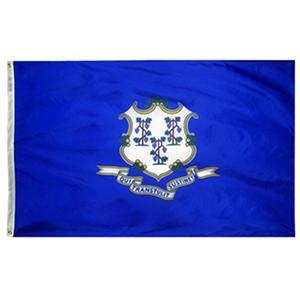 Annin - Connecticut State Flag 3x5' Nylon SolarGuard