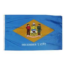 Annin - Delaware State Flag 4x6' Nylon SolarGuard