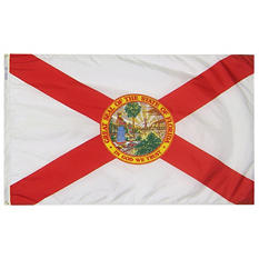 Annin - Florida State Flag 4x6' Nylon SolarGuard