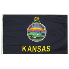 Annin - Kansas state flag 3x5 ft. Nylon SolarGuard