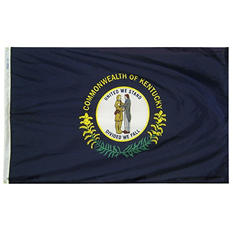 Annin - Kentucky state flag 3x5 ft. Nylon SolarGuard