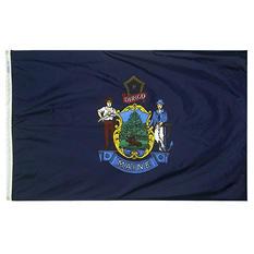 Annin - Maine state flag 3x5 ft. Nylon SolarGuard