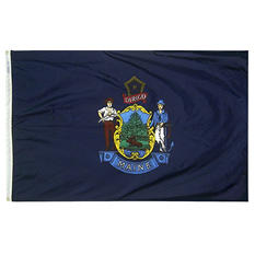 Annin - Maine state flag 4x6 ft. Nylon SolarGuard