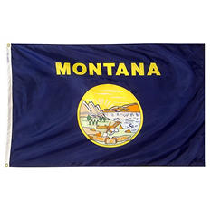 Annin - Montana state flag 4x6 ft. Nylon SolarGuard