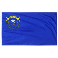 Annin - Nevada state flag 3x5 ft. Nylon SolarGuard