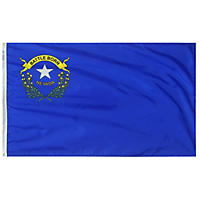Annin - Nevada state flag 4x6 ft. Nylon SolarGuard