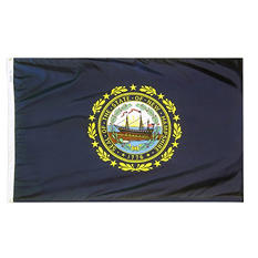 Annin - New Hampshire state flag 3x5 ft. Nylon SolarGuard