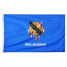 Annin - Oklahoma state flag 3x5 ft. Nylon SolarGuard