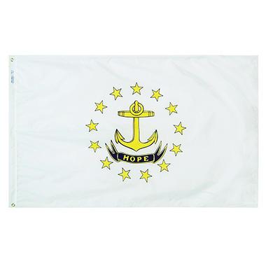 Annin - Rhode Island state flag 3x5 ft. Nylon SolarGuard