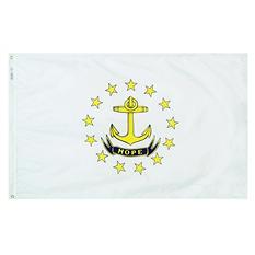 Annin - Rhode Island state flag 4x6 ft. Nylon SolarGuard