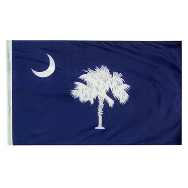 Annin - South Carolina state flag 4x6 ft. Nylon SolarGuard