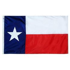 Annin - Texas state flag 4x6 ft. Nylon SolarGuard