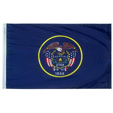 Annin - Utah state flag 4x6 ft. Nylon SolarGuard