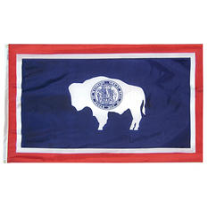 Annin - Wyoming state flag 3x5 ft. Nylon SolarGuard