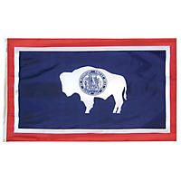 Annin - Wyoming state flag 4x6 ft. Nylon SolarGuard