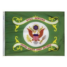 Annin - U.S. Army Retired Flag 3x4 ft. Nylon